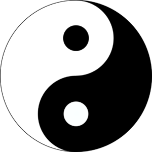 Yin-Yang - the balance of female and male energies