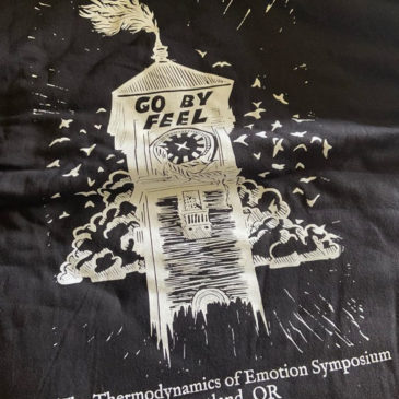 Thermodynamics of Emotion Symposium T-shirt